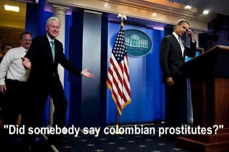 Did Somebody Say Colombian Prostitutes?