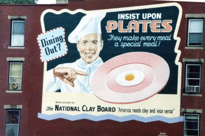Dining Out? Insist Upon Plates